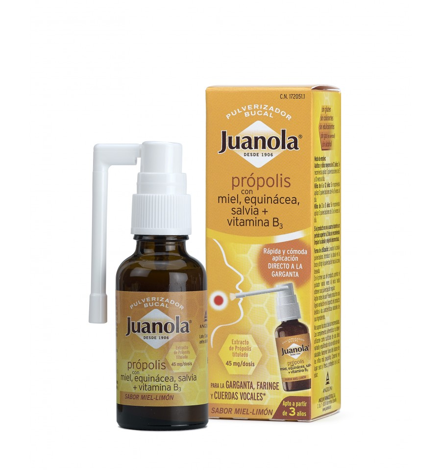 ANGELINI. JUANOLA. PROPOLIS SPRAY. 30 ml.